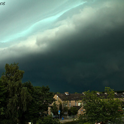 Shelf Cloud vanaf Zwolle