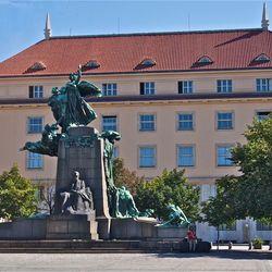 Zomaar een plein in Praag