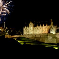 Fireworks@Edinburgh Castle