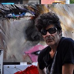 Streetartist Soho New York