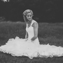 Bride in B&W