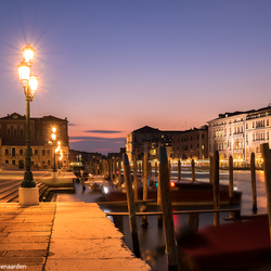 Nightfall over Venice