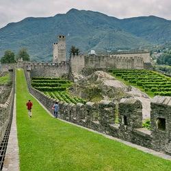 Vestingstad Bellinzona.