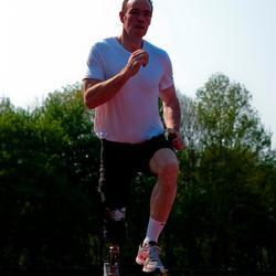 Hardlopen met sportprothese