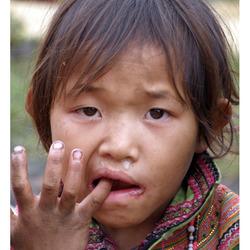 Hmong meisje