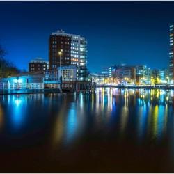 Groningen Sluiskade richting Emmabrug/Hoofdstation
