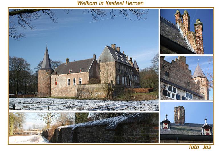 welkom in Hernen - 'n impressie van het kasteel in Hernen waar de omgeving op dit moment geheel wordt opgeknapt. Het kasteel is af en toe onder b