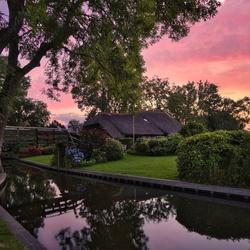 Giethoorn sunrise