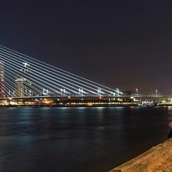 Panorama skyline Rotterdam-Zuid