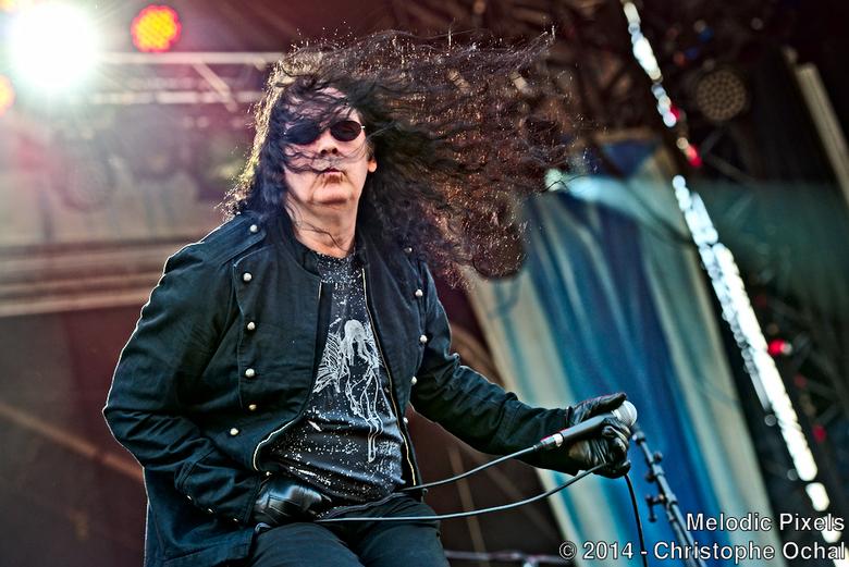 Brian Ross - Satan - Brian Ross van Satan @ Hellfest 2014