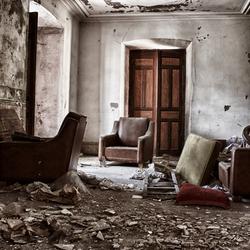 HDR van een huiskamer in Spanje