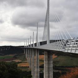 op de brug