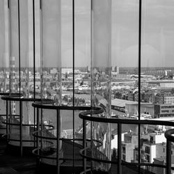 Antwerpen vanuit het MAS gezien