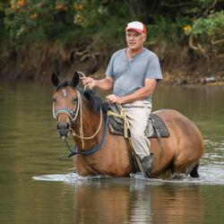 Transport te paard