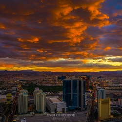 Sunset in Las Vegas