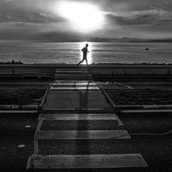 Marathon man.