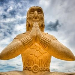 Maya Statue. HDR