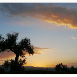 zonsopgang bij Mystras