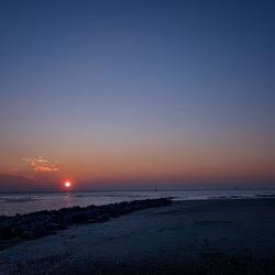 Sunset strandje De Kaloot
