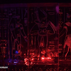 Bevroren Vallei Der Koningen in Egypte