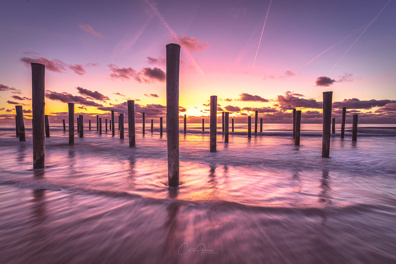 Sunset tranquility -