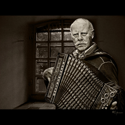 Accordeon man