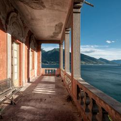 Villa met uitzicht