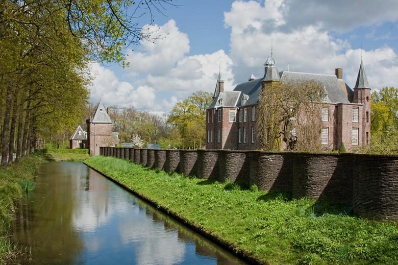 fruitmuur slangenmuur Slot Zuylen in Oud Zuilen