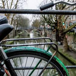 Utrecht in de regen