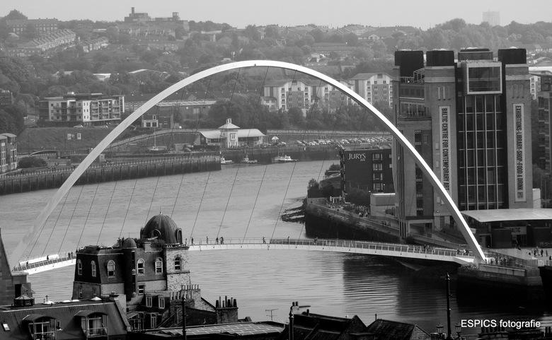 Millennium bridge Newcastle -