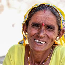 Vrouw in India