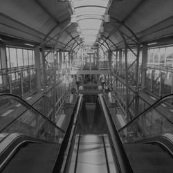 Zonnig moment  op het station
