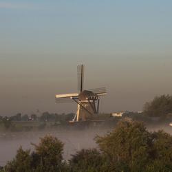 Laaghangende mist
