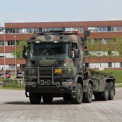 Scania met laadwisselsysteem