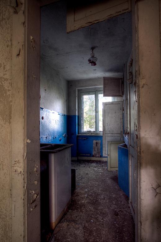 Soviet Barracks 5 - Op 23-9-2010 hebben Jos en ik een bezoek gebracht aan deze Russische basis.<br /> Voor die tijd is het een SS basis geweest.<br /