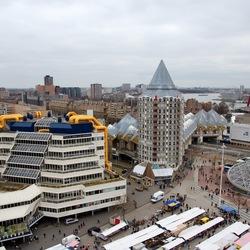 Rotterdam uitzicht van uit The View
