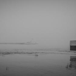 Varen in de mist