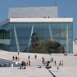 Operahuis Oslo.