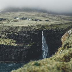 De verstopte waterval