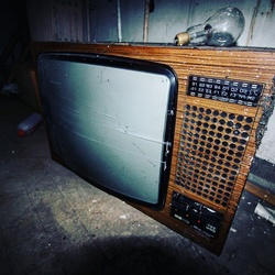 Old television.