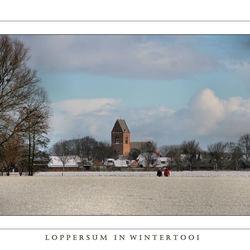 Rondje sneeuw Loppersum