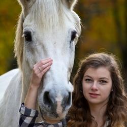 Fotoshoot Mariska met Willem