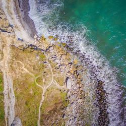 Kliffen in Denemarken