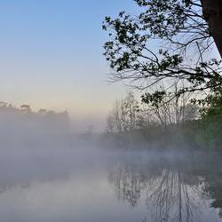 Misty Lake!