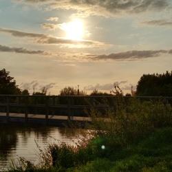 zonsondergang in de Achterhoek