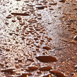Rusty raindrops
