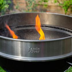 Barceque flames