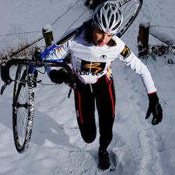 Esther in de sneeuw 2