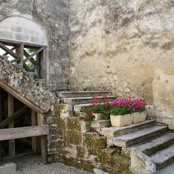 Binnenplaats in Saint-Émilion