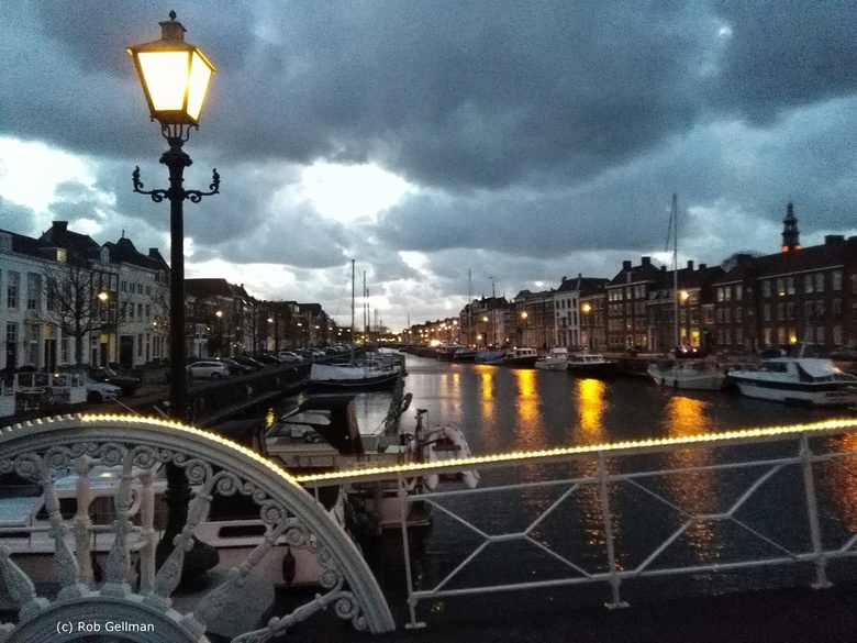 Spijkerbruggetje in Middelburg